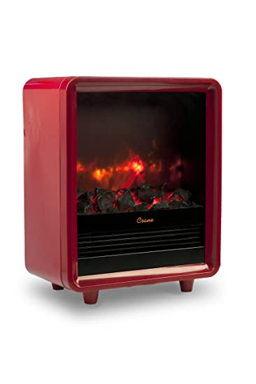 Amazon.com: Crane Fireplace Heater - Red: Home & Kitchen