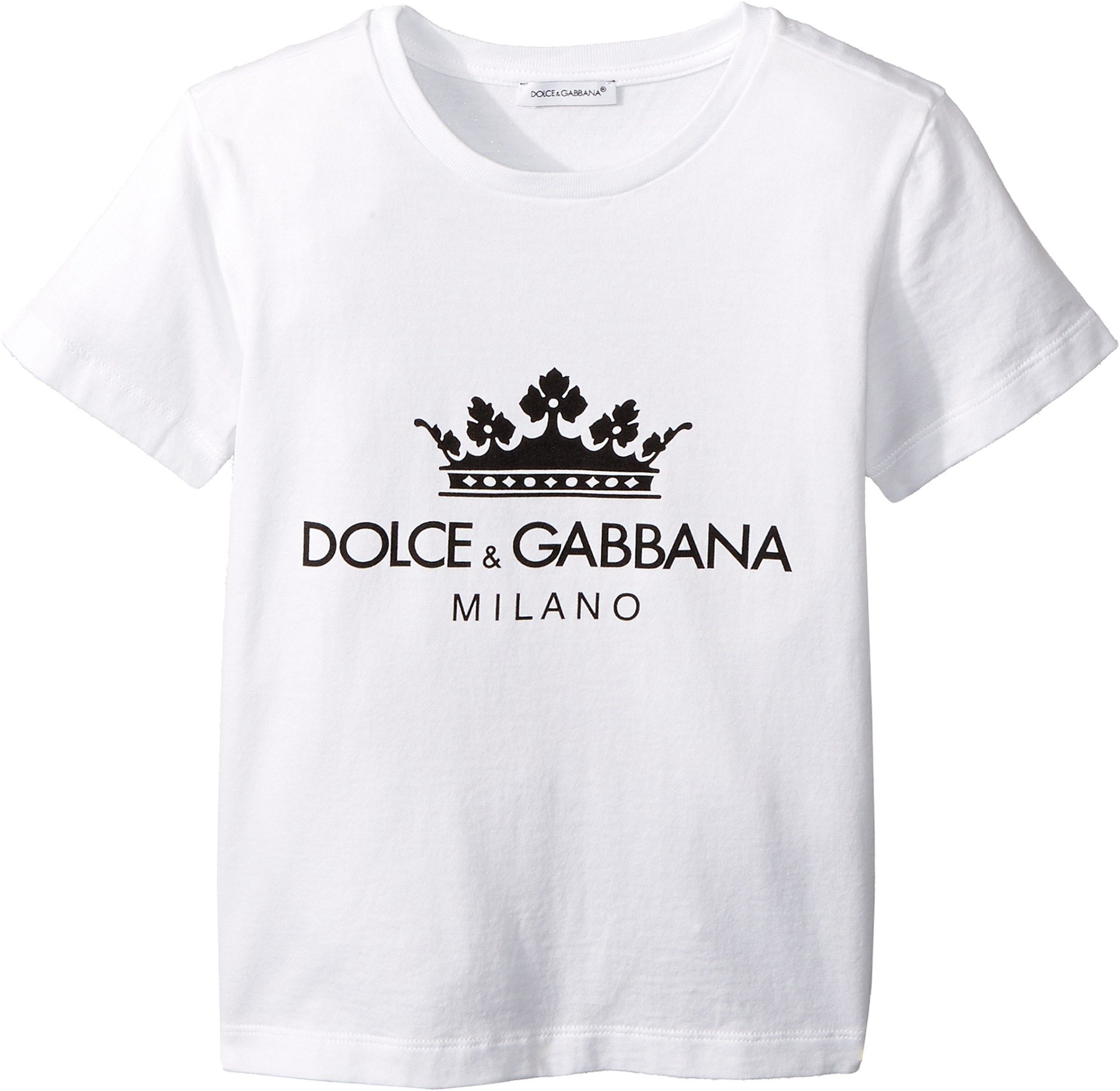 Dolce & Gabbana Kids Baby Girl's T-Shirt (Toddler/Little Kids) White 5