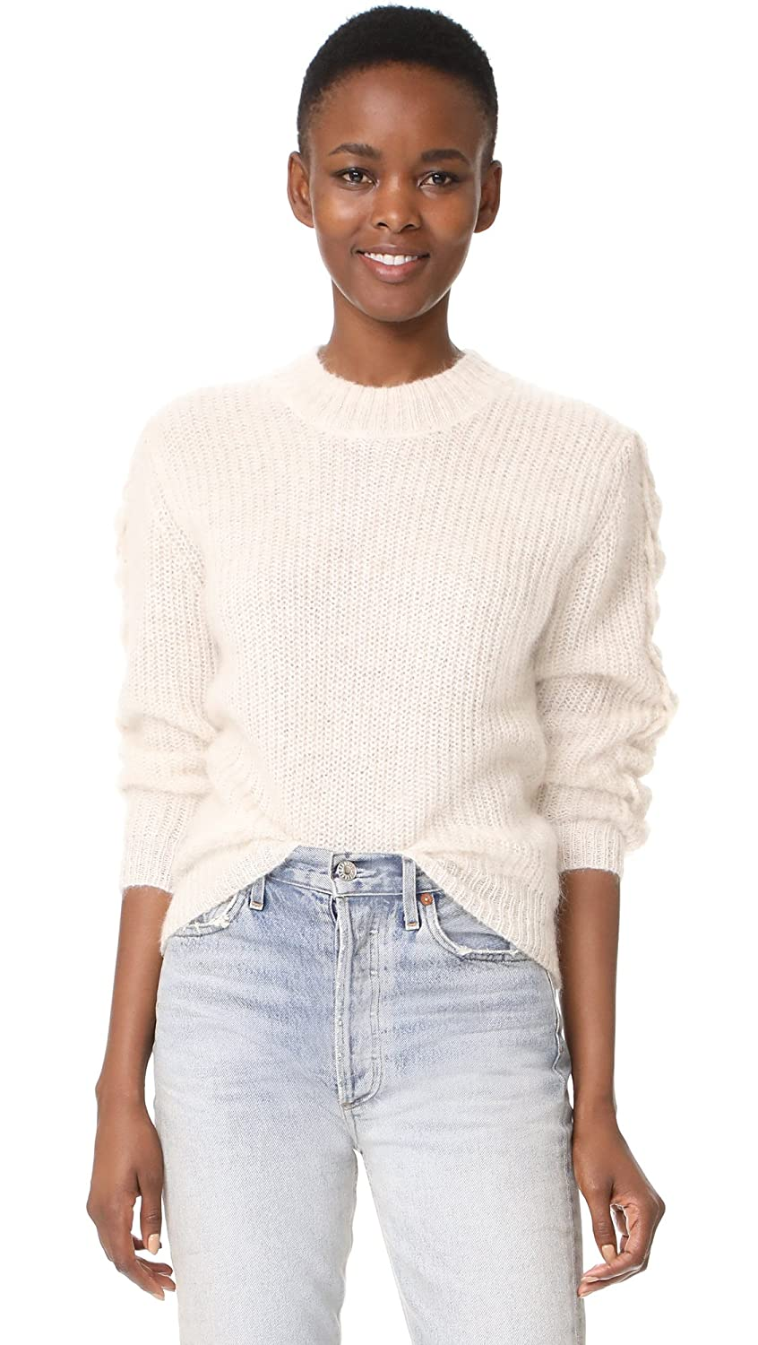 Baldwin Denim Womens Olivia Mohair Sweater At Amazon Flash  Sneakers Ivory 40 Clothing Store