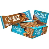 Quest Nutrition Hero Protein Bar, Chocolate Caramel Pecan, Gluten Free, 2.12 oz (10 Count)