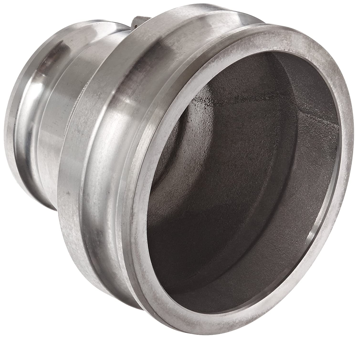Dixon 2040-AA-AL Aluminum Cam and Groove Hose Fitting Reducing Spool Adapter 2 Plug x 4 Plug