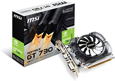 MSI GeForce GT 730 Fermi DDR3 4GB DirectX 12 (N730-4GD3V2)