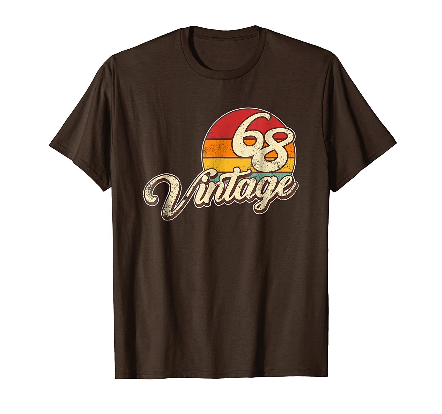 50th Birthday Gift Vintage T Shirt-mt