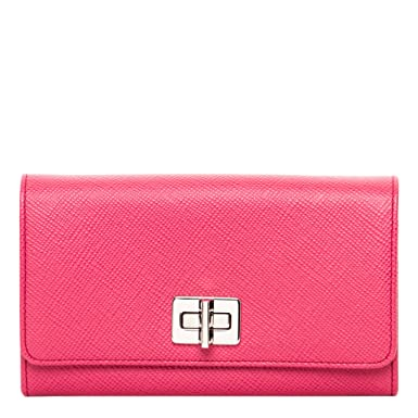 4d211bc2fb58 Image Unavailable. Image not available for. Color: Prada Women's Saffiano  Wallet ...
