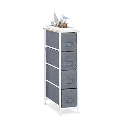 Amazon.com - Relaxdays Shelving System, Chest of Drawers ...