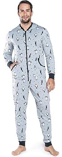 f199ae2821 Italian Fashion IF Herren Jumpsuit Schlafanzug IFS18029: Amazon.de:  Bekleidung
