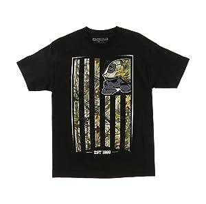 Metal Mulisha Men's Fracture Graphic T-Shirt-4XL black