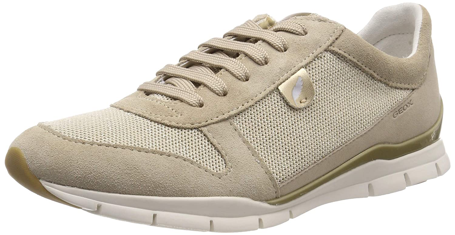 Beige (Lt Taupe C5ah6) Geox D Sukie A, Hauszapatos para mujer