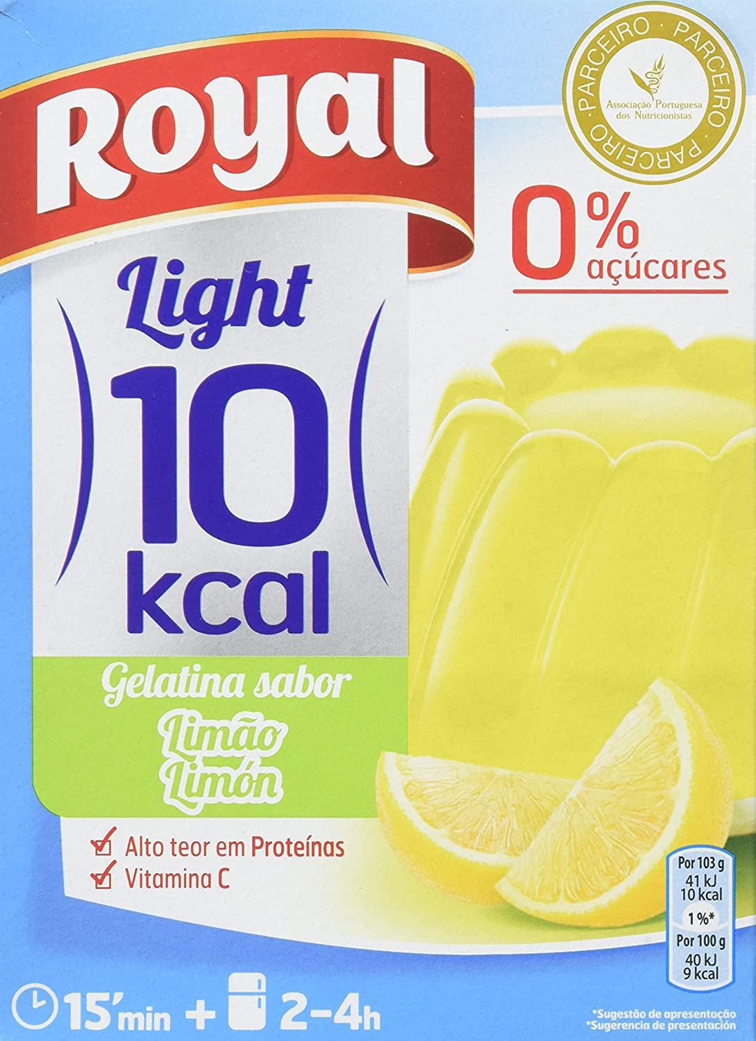 Royal Gelatina De Limon - Paquete De 12 X 2.58 gr, Total: 31 gr: Amazon.es: Amazon Pantry