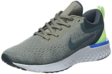 ceba0b428dc8 Nike Men s Odyssey React Running Shoe Dark Stucco Faded Spruce-Lime Blast  7.0