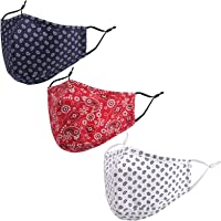 ZUXNZUX Mond- en neusbescherming met flexibele banden, herbruikbare Bandana halve gezicht mondbeschermhoes, effen…