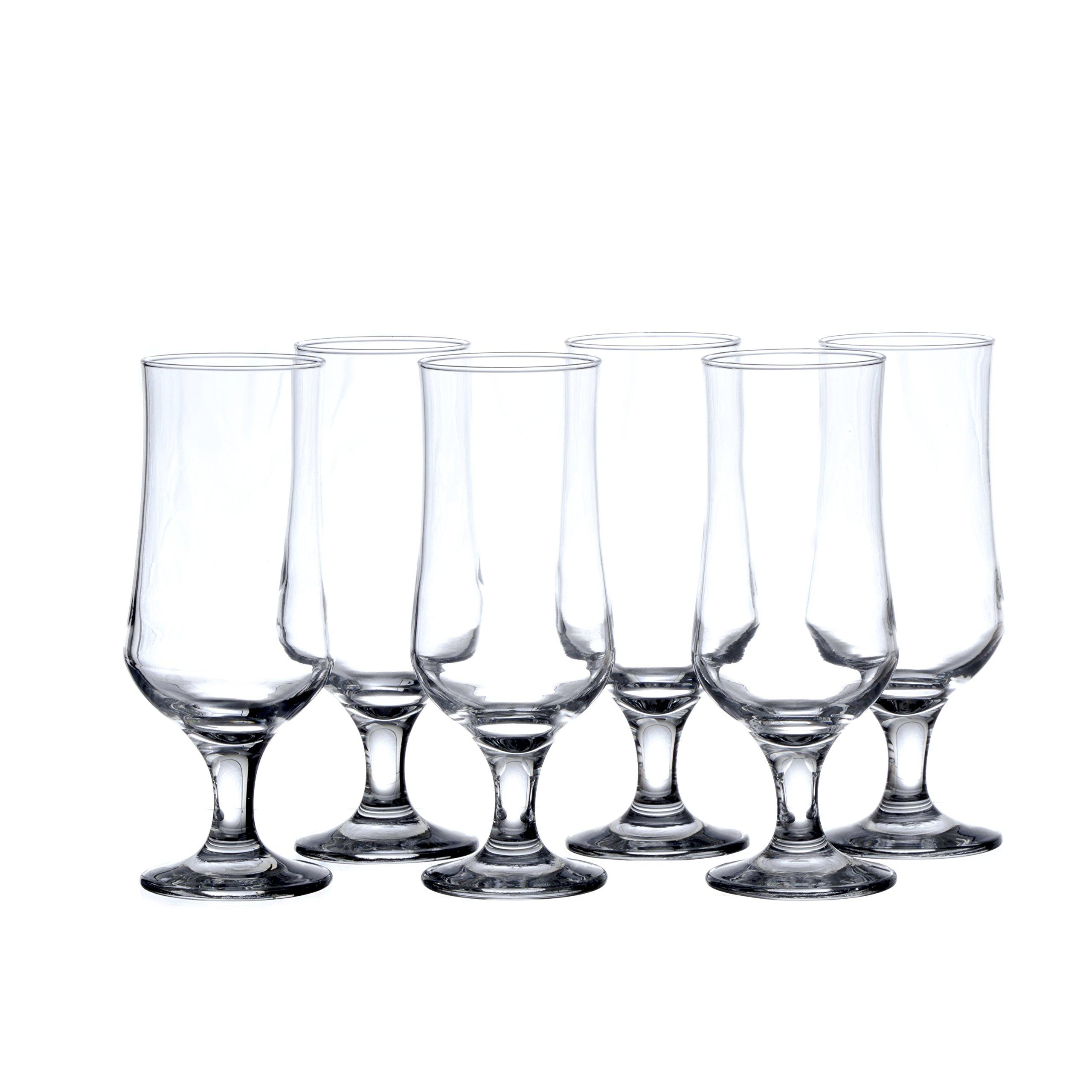 PASABACHE Hurricane Cocktail Glasses, 13-Ounce (6-piece, 12-piece set) (12) by Pasabache