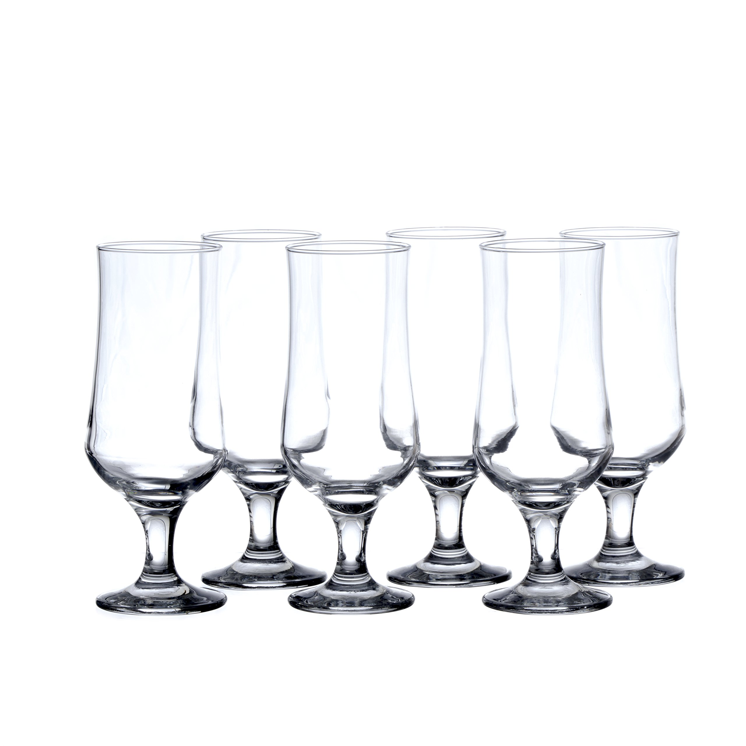 PASABACHE Hurricane Cocktail Glasses, 13-Ounce (6-piece, 12-piece set) (12)