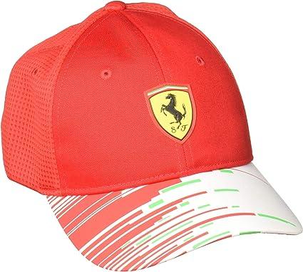 FERRARI F1 Ferrari Team 2018 – Gorra para Adultos, Color Rojo ...