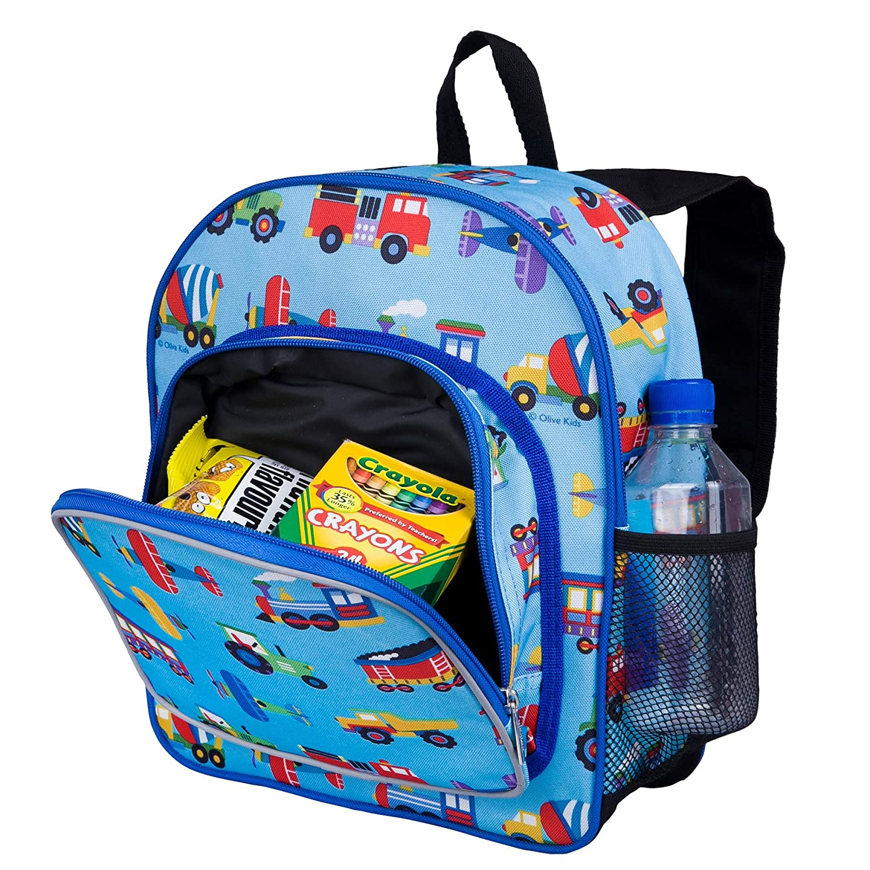 Wildkin-Trains-Planes-amp-Trucks-Pack-039-n-Snack-Backpack miniatura 3