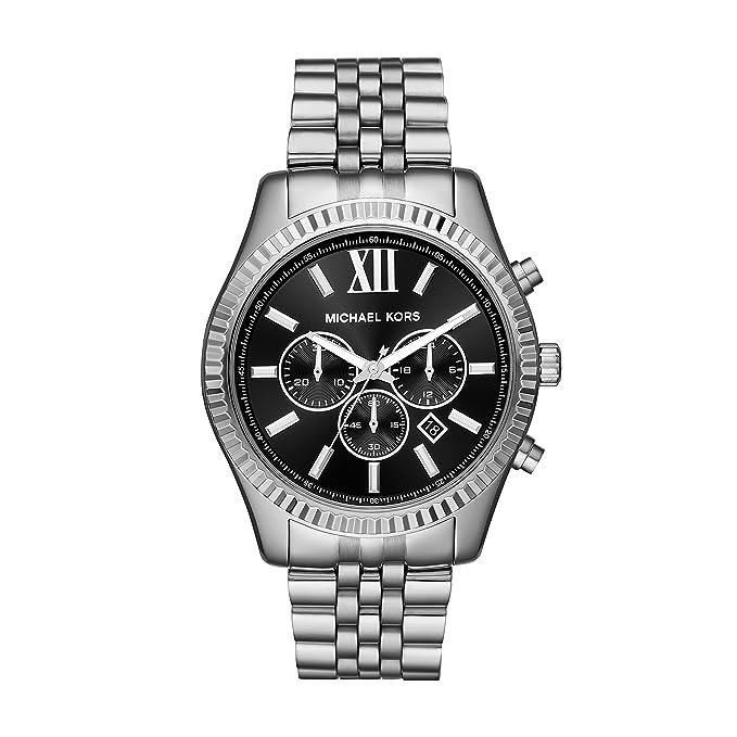 Michael Kors Watches Mens Lexington Stainless Steel Watch by Michael Kors