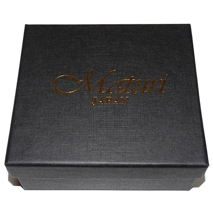 ad6eae7c9465 Amazon.co.jp: 高級コードバン×牛革2つ折り財布 [ Maturi 091 ] メンズ財布 (ブラック×ブルー): 文房具・オフィス用品