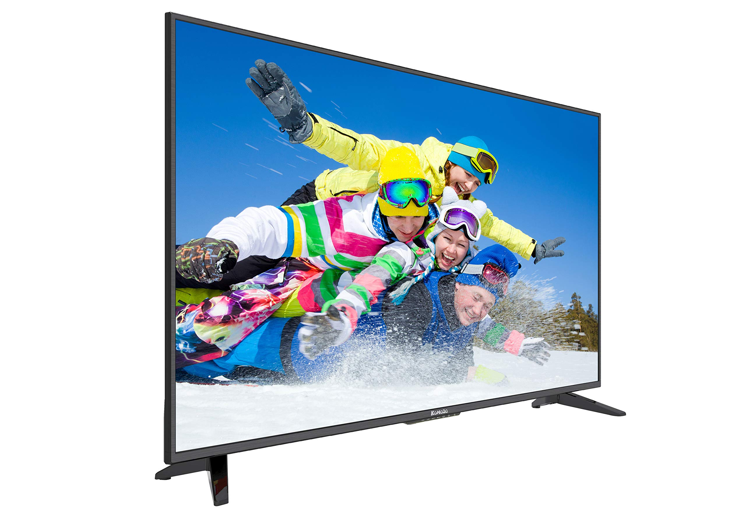 Komodo by Sceptre KU515 50'' 4K UHD Ultra Slim LED TV 3840x2160 Memc 120, Metal Black 2019 by Komodo by Sceptre