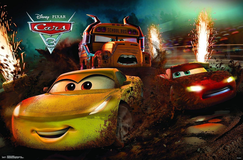 Amazon Com Trends International Disney Pixar Cars 3 Rampage
