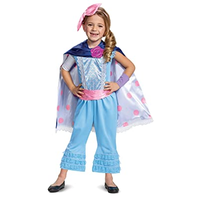 Disney Pixar Bo Peep Toy Story 4 Deluxe Girls' Costume: Toys & Games
