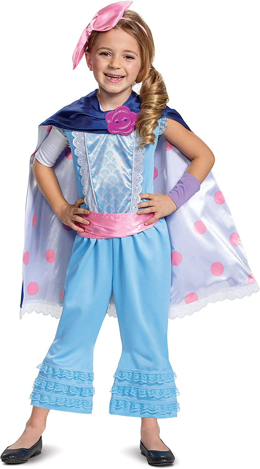 Disney Pixar Bo Peep Toy Story 4 Deluxe Girls Costume
