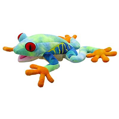 The Puppet Company Creatures Tree Frog Hand Puppet, Large: Toys & Games