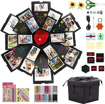 Amazon.com: Homga - Caja de regalo para Navidad, álbum de ...