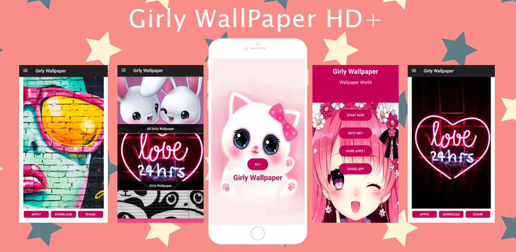 Amazon Com Girly Wallpapers Backgrounds Appstore For Android