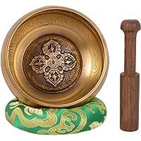 Meditación tibetana Singing Bowl con grabado especial