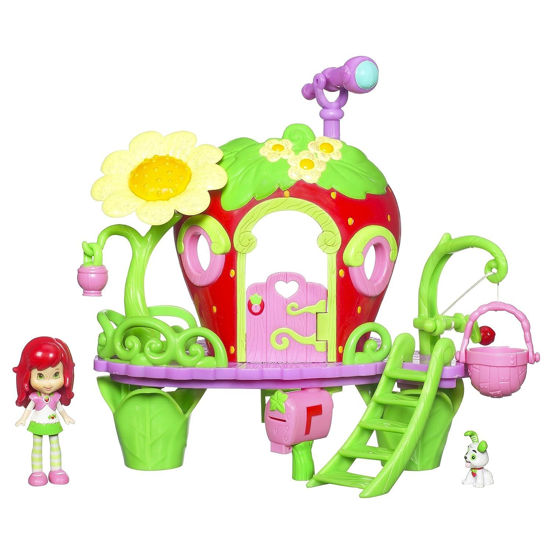 Emily Erdbeer / Strawberry Shortcake - Berry Bitty Clubhouse / Ferienhaus / Baumhaus Emily Erdbeer (ca. 8 cm) & Zubehör - Hasbro