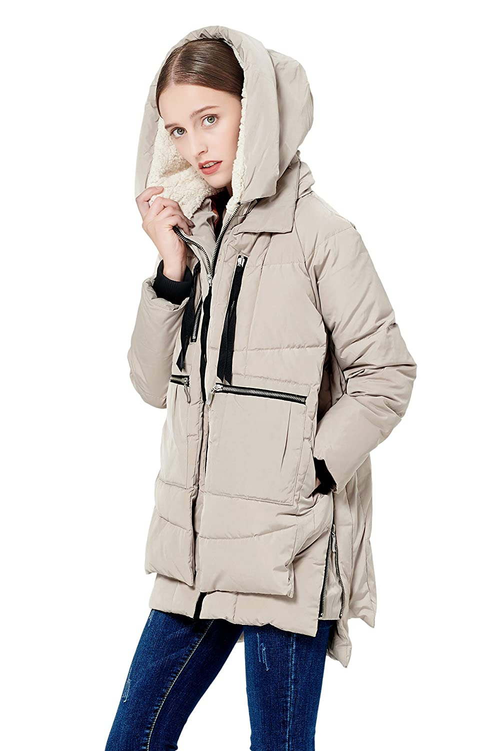 61b62a3e1480 Amazon.com  Orolay Women s Thickened Down Jacket (Most Wished  Gift ...