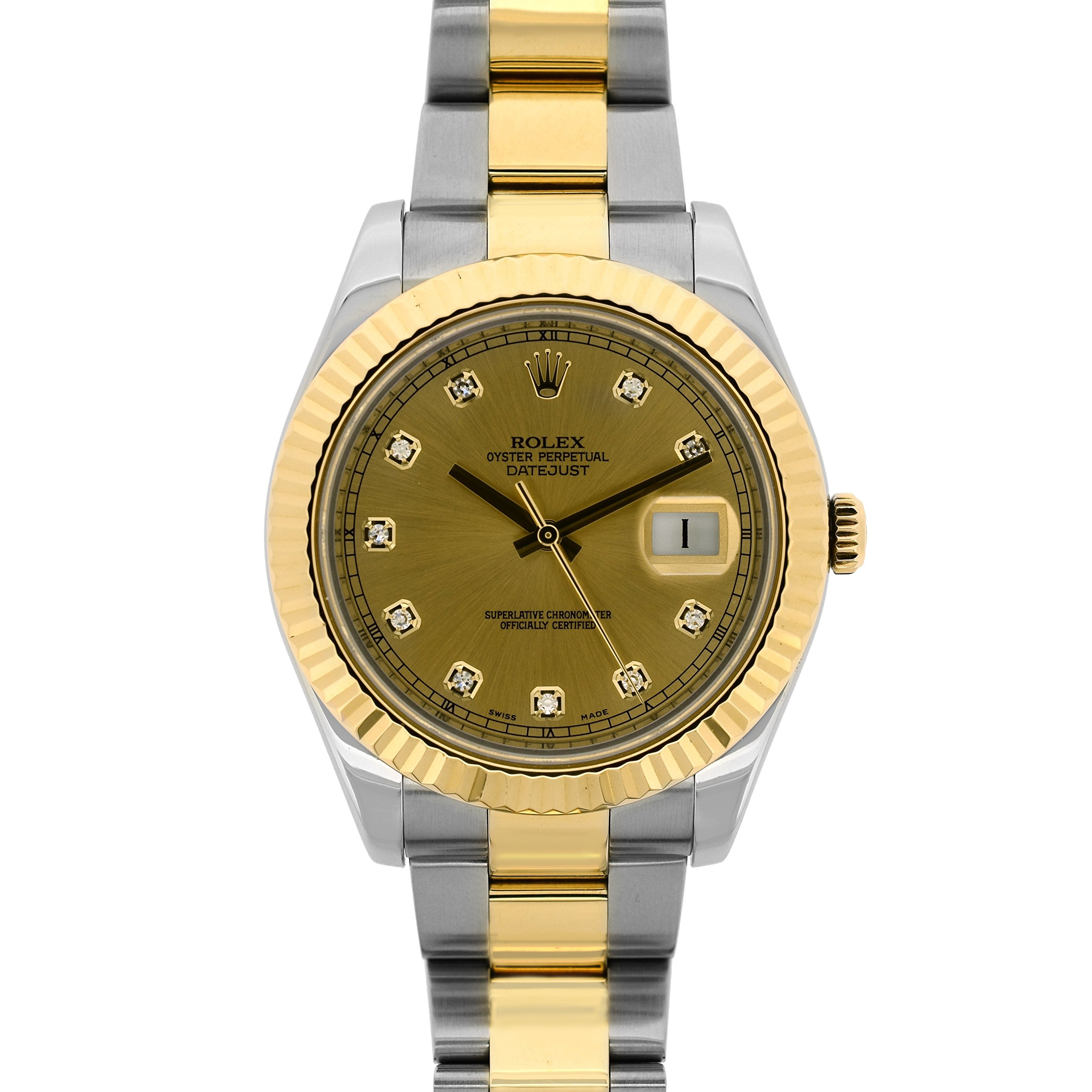 Rolex Datejust II automatic-self-wind mens Watch 116333 (Certified Pre-owned)