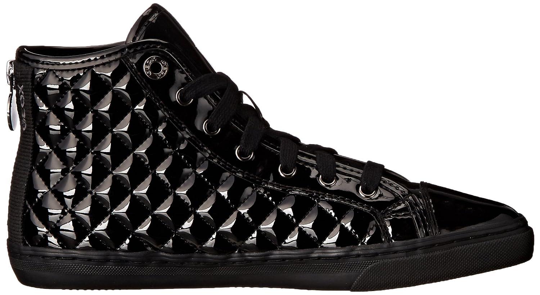 Geox D Giyo (schwarzc9999) Damen Hohe Sneakers Schwarz (schwarzc9999) Giyo 017e44