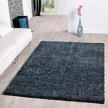 Amazon De Teppich Shaggy Hochflor Teppiche Langflor Modern Weich