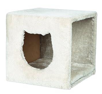Trixie 44090 Cueva Suave Estanterías, 37 x 33 x 33 cm, Gris Claro: Amazon.es: Productos para mascotas