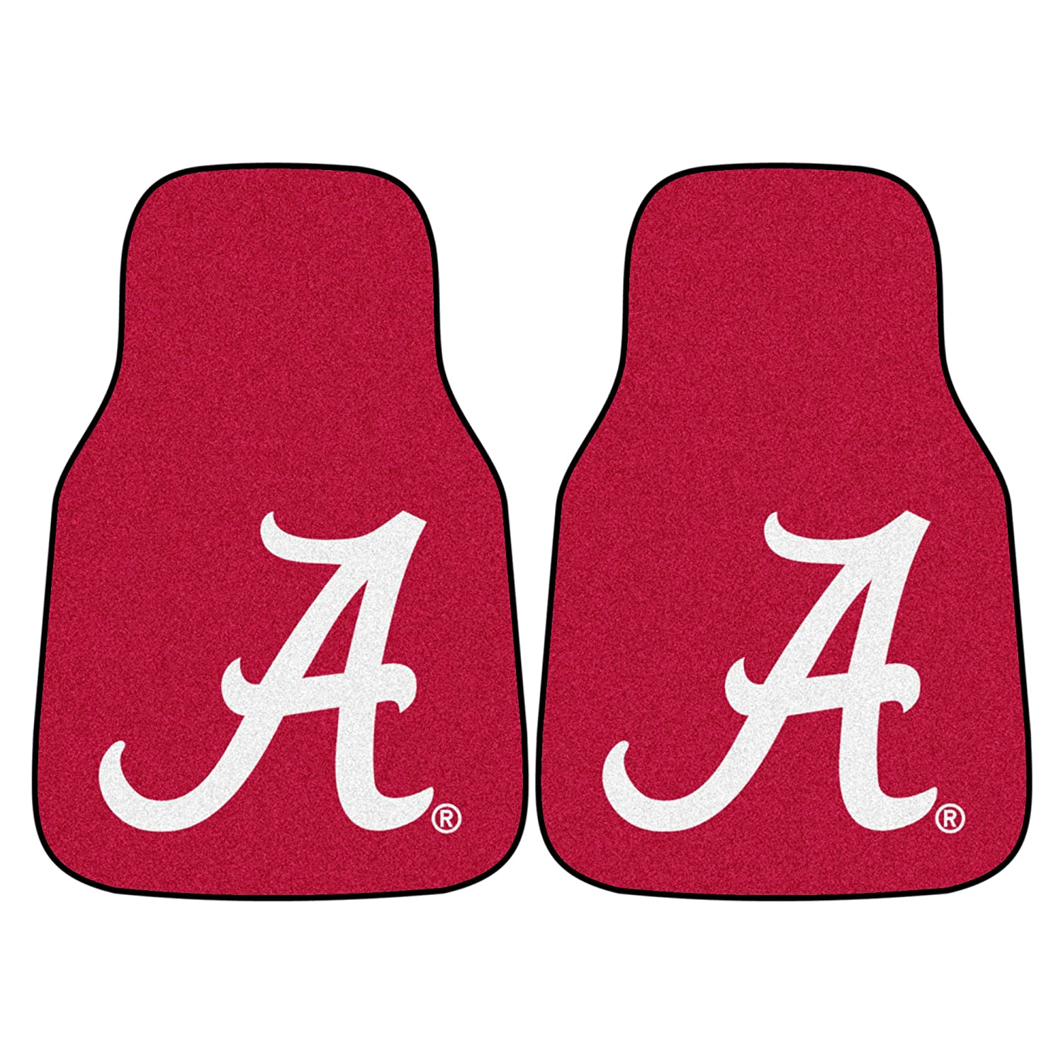Fanmats Alabama Crimson Tide Carpeted Car Mats