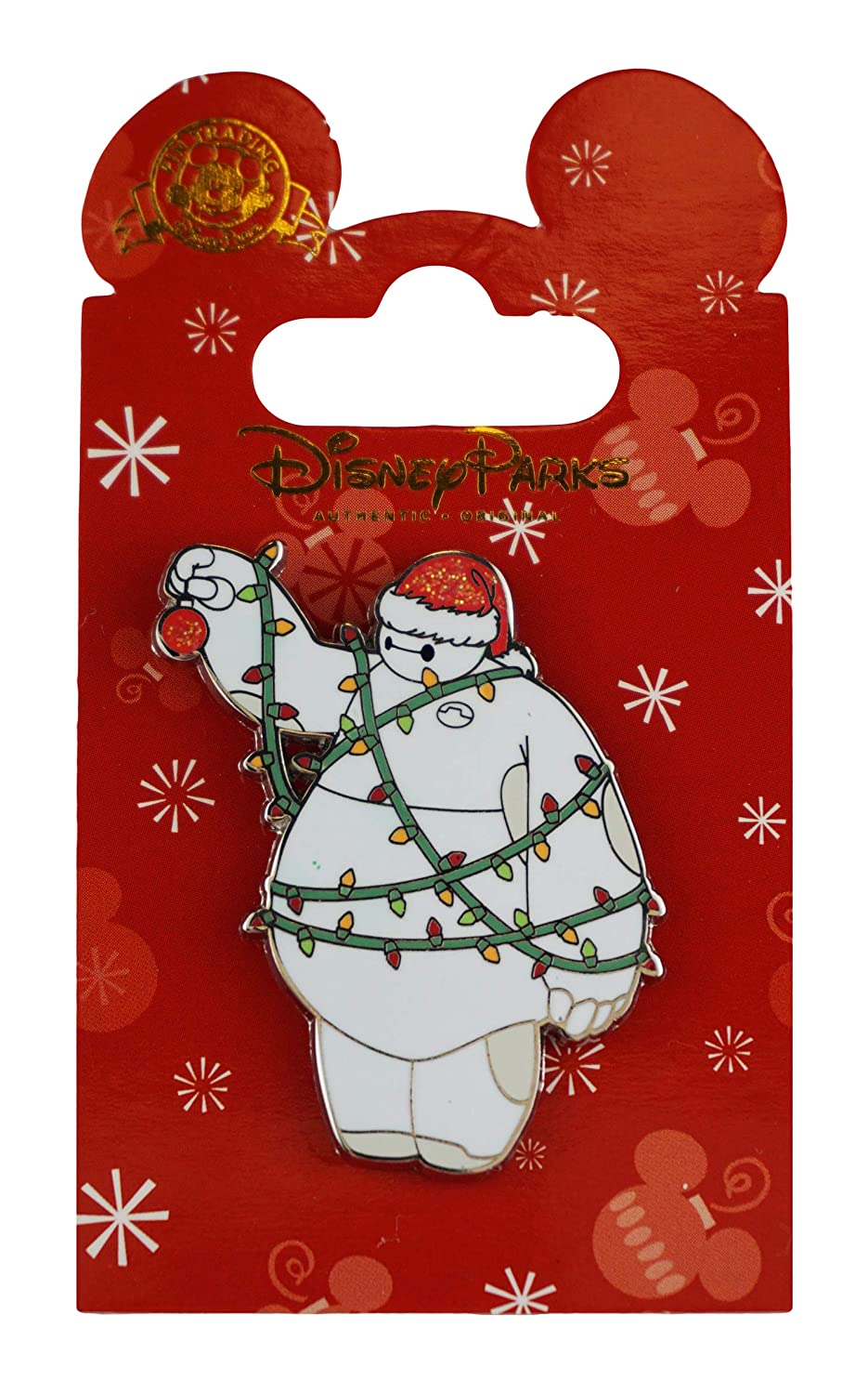 Disney Pin - Holiday - Baymax in Lights