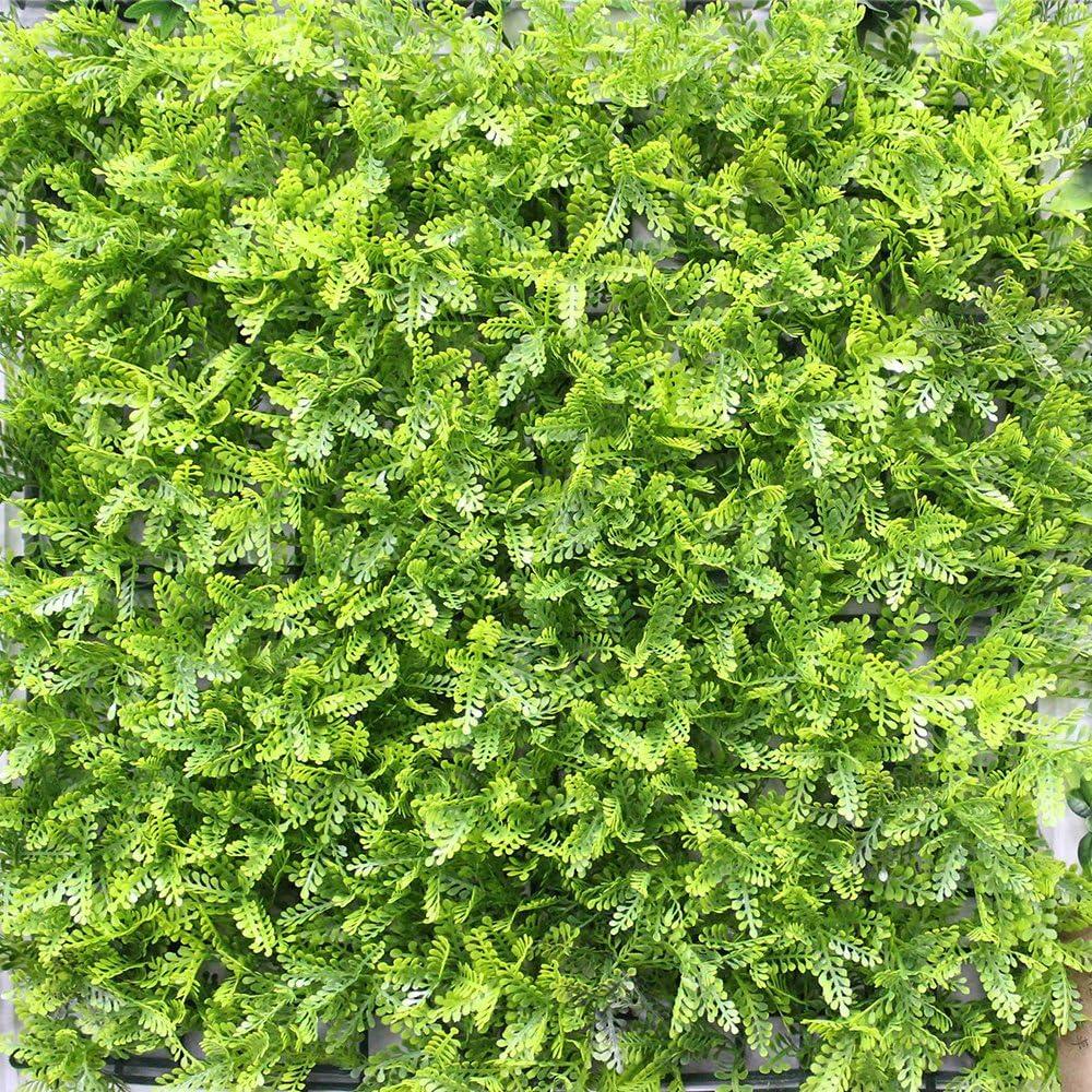 Artificial jardín Vertical 3d plantas verdes Pared paneles ...