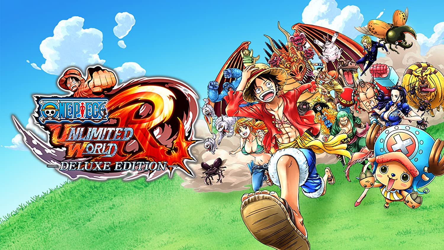 Amazon.com: ONE PIECE: Unlimited World Red Deluxe Edition ...