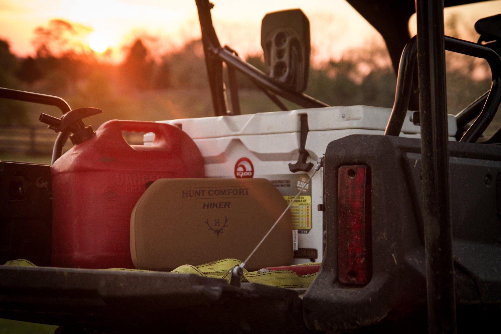 Hunt Comfort Hiker GelCore Hunting Seat, Coyote Brown by Hunt Comfort (Image #7)