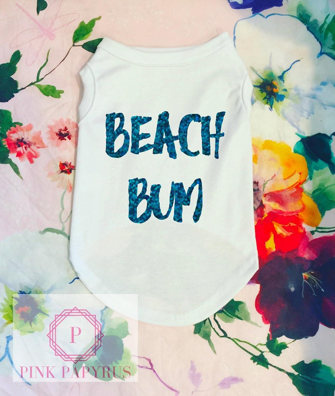 Beach Bum Dog Shirt