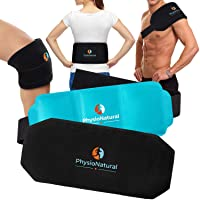 Multipurpose, Reusable Gel Pack with Secure Wrap for Instant Relief of Back Pain...