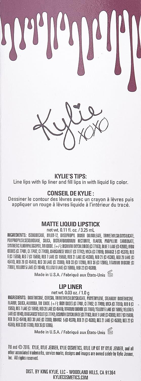 Kylie Lip Kit - Dead of Knight