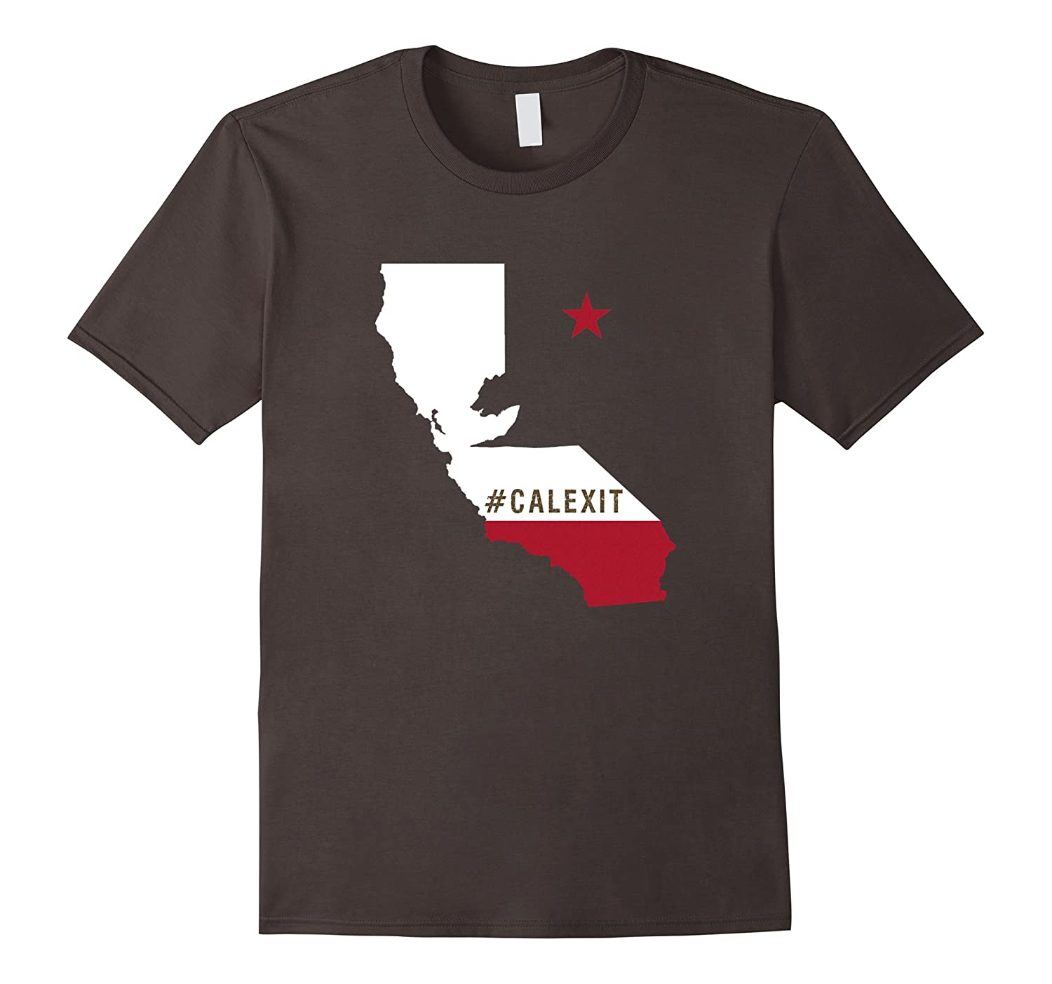 #CalExit Hashtag California Exit Secession USA Protest Tee-BN