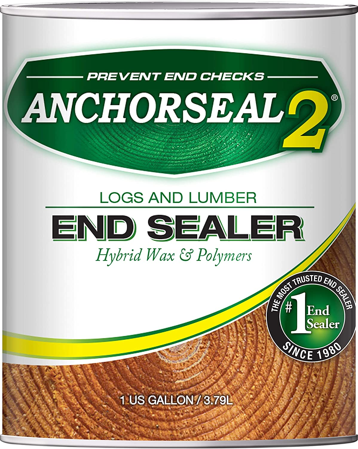 ANCHORSEAL 2 Hybrid Log & Lumber End Grain Sealer