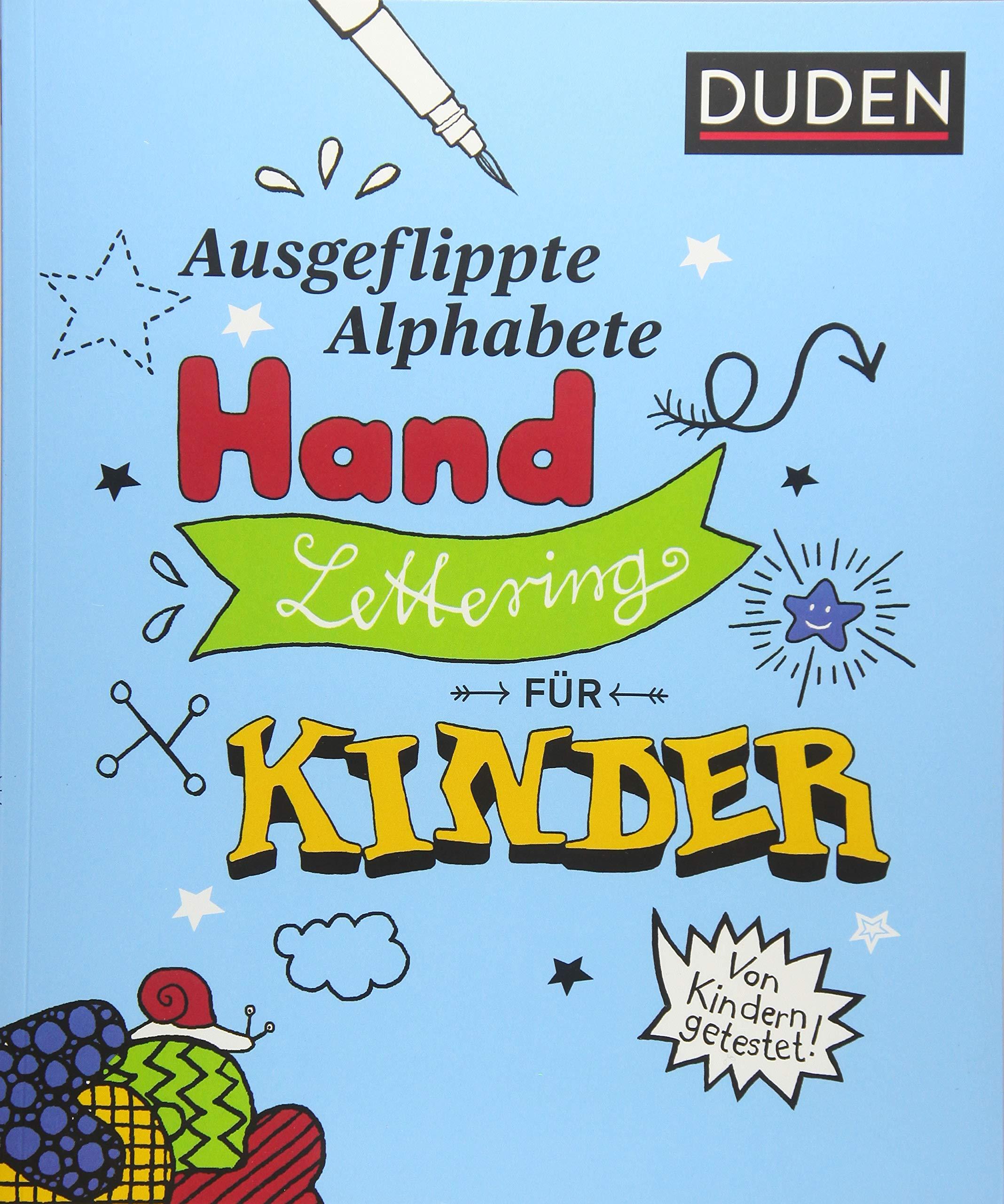 Ausgeflippte Alphabete – Handlettering für Kinder  der springende ...