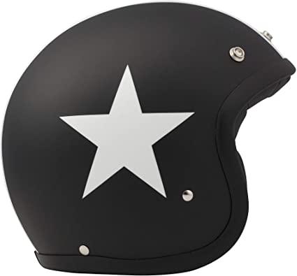 XS DMD 1jts30000sb01/Helmet Moto Star Black