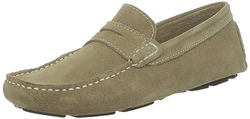 Roadsign Ubac 77912_Beige - Mocasines de cuero para hombre, color beige, talla 41: Amazon.es: Zapatos y complementos