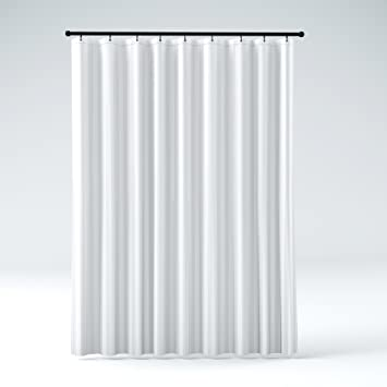 Curtains Ideas 84 inch shower curtain liner : Amazon.com: Hotel Quality Mildew Resistant Washable Fabric Shower ...