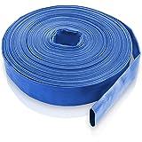 Bradas WAF2B200050 PVC Flachschlauch, 2 Zoll, 50 m, 2 Bar, blau, 20 x 20 x 5 cm